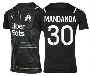Maillot OM Gardien Mandanda 2021/22 Junior