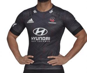 Maillot Entraînement Crusaders Rugby Noir