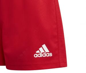 Short adidas Rugby 3-Stripes Rouge Junior
