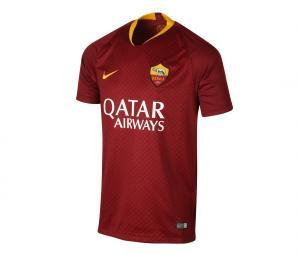 Maillot AS Roma Domicile 2018/19 Sponsor