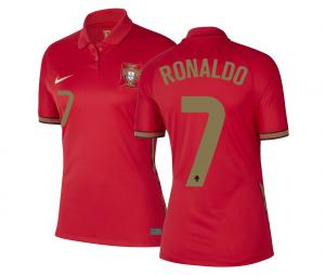 Maillot Portugal Domicile Ronaldo 2020/2021 Femme