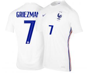 Maillot France Extérieur GRIEZMANN 2021-2022 Junior