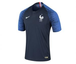 Maillot Match FFF Domicile Nike 2018 Junior 1 etoile