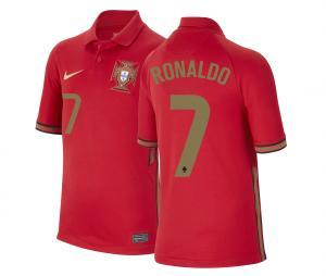 Maillot Portugal Domicile Ronaldo 2020/2021 Junior