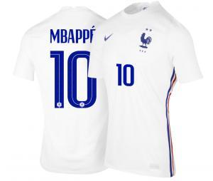 Maillot France Extérieur MBAPPE EURO2020 Junior
