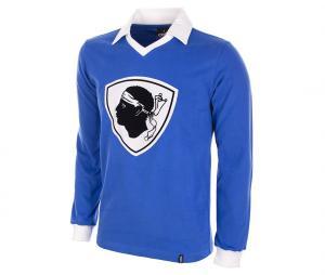 Maillot Vintage Bastia 77/78 Bleu