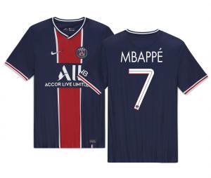 Maillot PSG Domicile UCL Mbappé 2020/2021 Junior