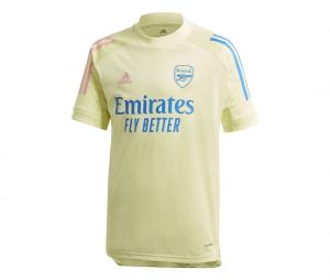 Maillot Entraînement Arsenal Jaune Junior