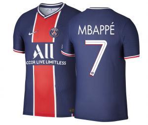 Maillot Match PSG Domicile Mbappé 2020