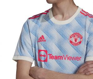 Maillot Authentique Manchester United Extérieur 2021/2022