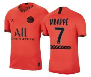 Maillot Jordan x PSG Extérieur Mbappé 2019/20
