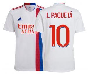 Maillot OL Domicile Paquetá 2021/2022