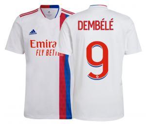 Maillot OL Domicile Dembélé 2021/2022