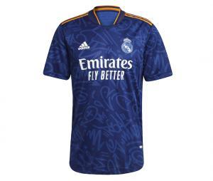 Maillot Authentique Real Madrid Extérieur 2021/2022