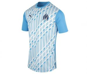Maillot Pré-match OM Stadium Bleu Junior