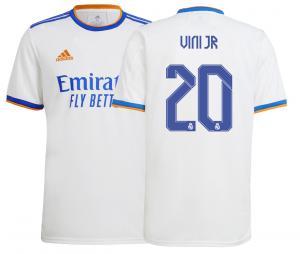 Maillot Domicile Réal Madrid Vinicius Jr 2021/2022