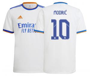 Maillot Domicile Réal Madrid Modrić 2021/2022