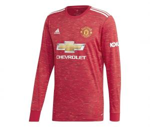 Maillot Manches longues Manchester United Domicile 2020/2021