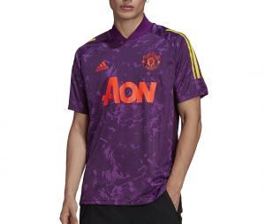 Maillot Entraînement Manchester United Ultimate Violet