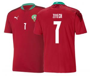 Maillot ZIYECH Maroc Domicile 2020/21