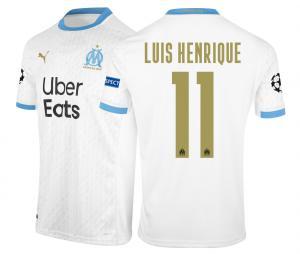 2020/2021 OM Stadium Home Europe Luis Henrique Men's Football Shirt