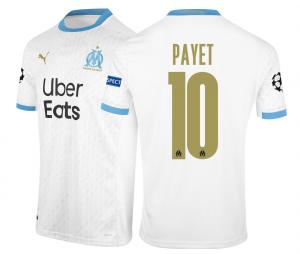 Maillot OM Domicile Europe Payet 2020/2021