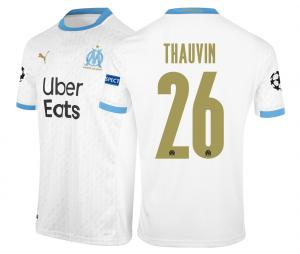 Maillot OM Domicile Europe Thauvin 2020/2021