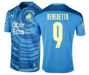 Maillot OM Third Europe Benedetto 2020/2021