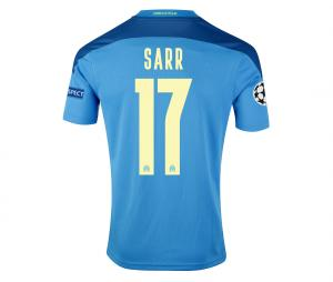 Camiseta OM Third Europa Sarr 2020/2021