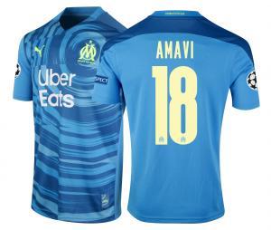 Maillot OM Third Europe Amavi 2020/2021