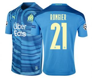 Maillot OM Third Europe Rongier 2020/2021