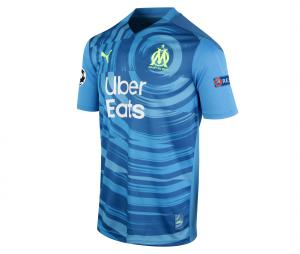 2020/2021 OM Third Europe Rongier Men's Football Shirt
