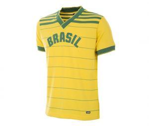 Maillot Rétro Brésil 1984 Jaune