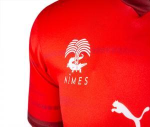 Maillot Nîmes Olympique Domicile 2021/2022