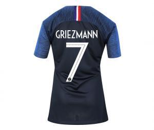 Maillot France Domicile Griezmann 2 étoiles 2018/2019 Femme
