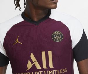 Maillot Match Jordan x PSG Third UCL Mbappé 2020/2021