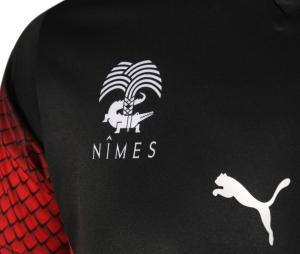 Maillot Nîmes Olympique Domicile 2020/2021