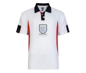 Maillot Vintage Coupe du Monde Angleterre 1998 Blanc