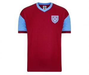 Maillot Vintage West Ham United 1958 Rouge
