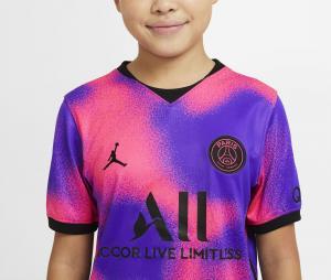 Quatrième Maillot PSG x Jordan 2020/2021 Junior