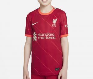 Maillot Liverpool Domicile 2021/2022 Junior