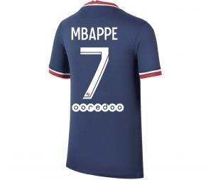 Maillot Jordan x PSG Domicile Mbappé 2021/2022 Junior