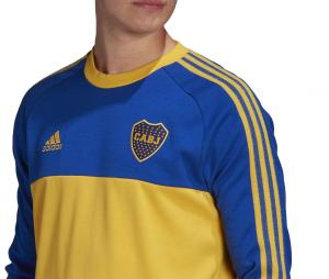 Sweat-shirt Boca Juniors Icons Bleu/Jaune