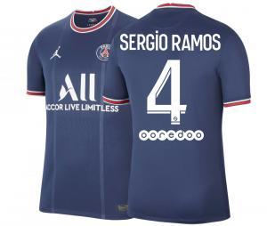 Maillot Jordan x PSG Domicile Sergio Ramos 2021/2022
