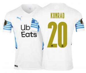 Camiseta Auténtica OM Local Europa Konrad 2021/2022