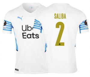 Camiseta Auténtica OM Local Europa Saliba 2021/2022