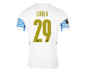 Maillot Authentique OM Domicile Europe Lirola 2021/2022