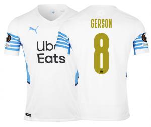 Camiseta Auténtica OM Local Europa Gerson 2021/2022