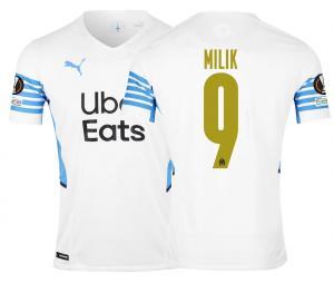 Camiseta Auténtica OM Local Europa Milik 2021/2022