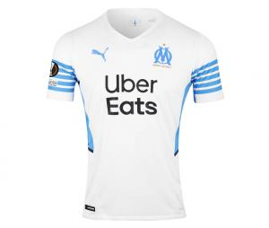 OM Authentic Home Men's Football Shirt Europe Milik 2021/2022